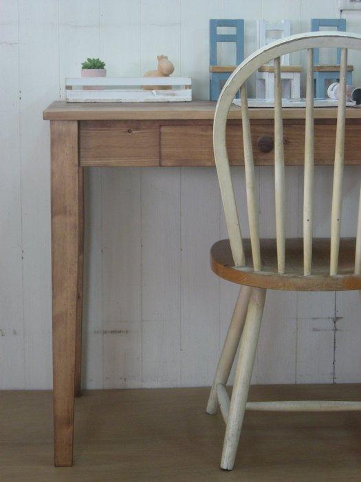 生活木工場-A1實木桌/餐桌/書桌/工作桌/電腦桌/寫字桌/邊桌/訂購-斜式桌腳