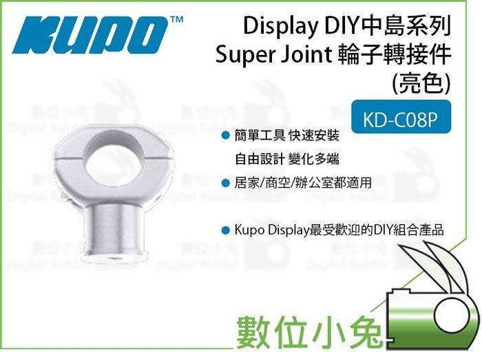 數位小兔【Kupo KD-C08P 輪子轉接件(亮色)】DIY中島系列 輪子轉接件 輪子轉接套組 銀色 KD-C08P