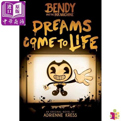 [文閲原版]Bendy and the Ink Machine #01:Dreams Come to Life 英文原版