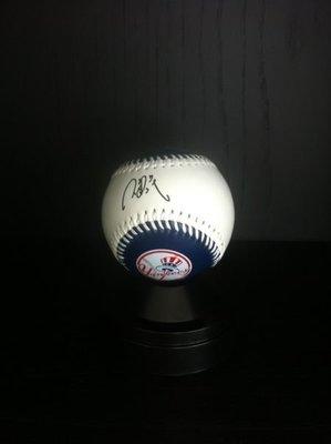 棒球----台灣之光 王建民 簽名球