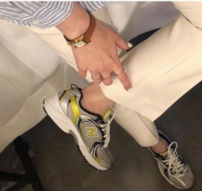 (現貨)NEW BALANCE 2020 NB MR530 運動鞋 (韓國熱門款) 銀黃色 MR530SC