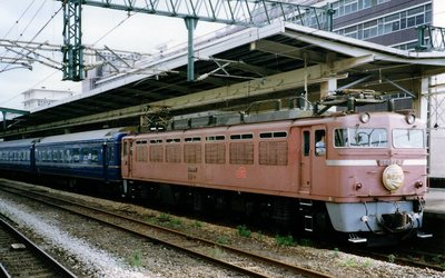 [玩具共和國] TOMIX HO-2021 JR EF81-400形電気機関車(JR九州仕様)