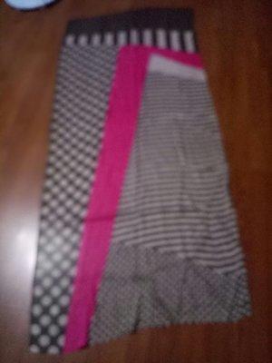 棉質絲巾披巾178x31cm近全新(床白466袋)