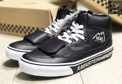 [FDOF] VANS x MASTERMIND MT.EDITION L/BLACK 聯名 骷髏 日本公司貨
