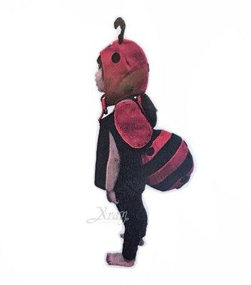 X射線【W390024】蓬蓬裝-瓢蟲球球裝(附頭套),化妝舞會/角色扮演/尾牙表演/萬聖節服裝/聖誕節/兒童變裝