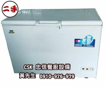 二手-海爾上掀式冷凍櫃 379公升 HCF428H-2