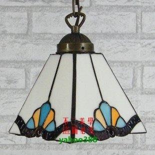 【美學】歐式蒂凡尼燈地中海吸頂燈玄關燈樓梯燈吊燈(小號)MX_1722