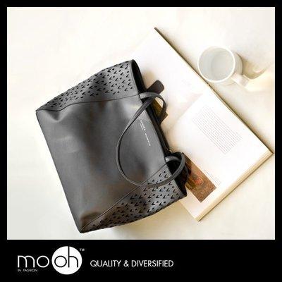 mo.oh 設計師品牌鏤空手提包 DA...