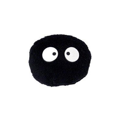 尼德斯Nydus 日本正版 吉卜力 宮崎駿 龍貓 TOTORO 小黑炭 煤炭精 灰塵妖怪 小黑球 吸鐵 磁鐵 約3cm