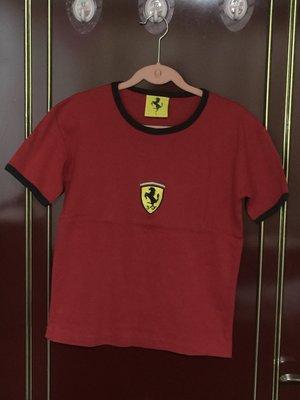 Ferrari 女款短袖T恤 尺寸S