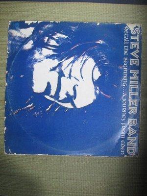 黑膠唱片(僅封面無唱片)~Steve Miller Band-Recall The Begining專輯.收錄Welco