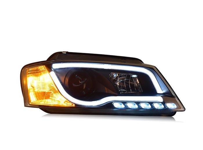 合豐源 車燈 奧迪 A3 8P 魚眼 大燈 頭燈 HID LED 日行燈 08 09 10 11 12 13 導光