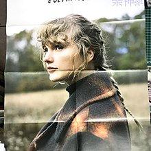 泰勒絲Taylor Swift 恆久傳說 evermore 【原版折頁海報】未貼!