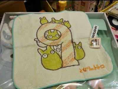 原裝 日本 宮崎駿 系列 Totoro 龍貓 月份 表達 小方巾 毛巾 Towel 23 × 23cm 9月份 Sep
