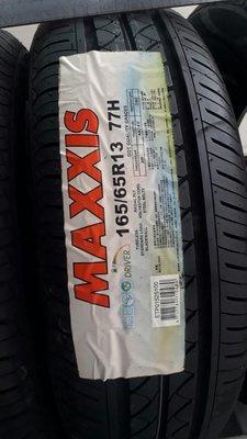 彰化員林 瑪吉斯輪胎 正新輪胎 Maxxis I eco 165 65 13 (非MAP1 me3 )  實體店面安裝