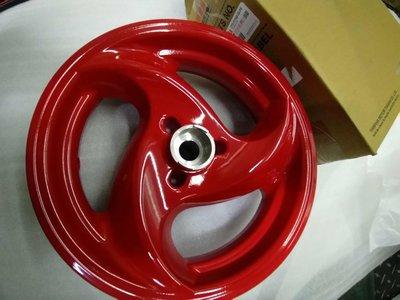 YAMAHA 山葉 原廠 勁豪 碟煞 前輪框 (紅色) 鋁框 輪框