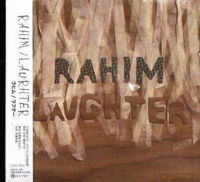 K - RAHIM  - LAUGHTER - 日版 +2BONUS