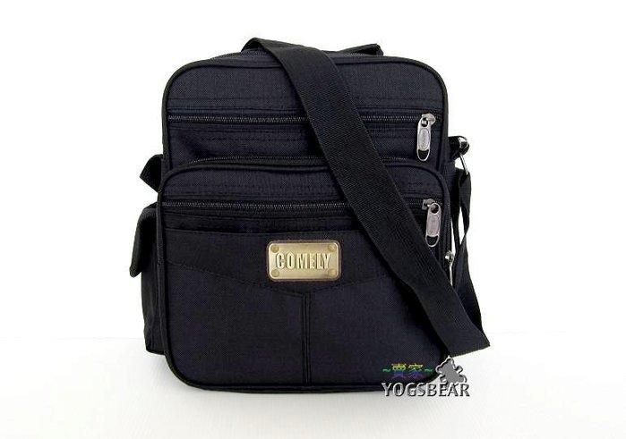 【YOGSBEAR】直立式  背提兩用包 多隔層 側背包 斜背包 休閒包  公事包 肩背包 護照包 兩用包 127