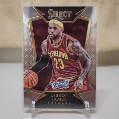2014-15 PANINI select No.57 LeBron James NBA 季後賽 騎士隊 詹皇 小皇帝 雷霸龍 詹姆士 早期 Base金屬卡