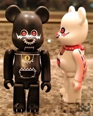 Bearbrick T9G set 100% rare