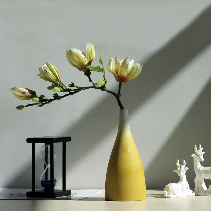 熱賣北歐ins風陶瓷花瓶擺件家居裝飾品小口干花花瓶簡約客廳插花花器#擺件#陶瓷#北歐