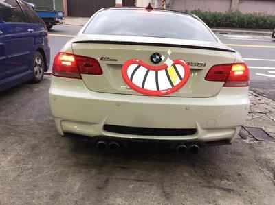 泰山美研社18020514寶馬BMW E90改E92 M3 式樣 PP後保桿一組