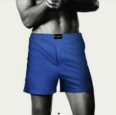 NUKLEUS國際認證Oeko-Tex 100有機棉時尚男性Blueberry Panache個性平口內褲