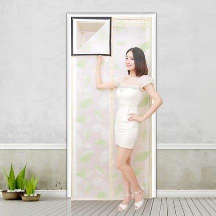 空調 防潮 防濕 防蚊蟲 門簾 隔絕油煙門簾 磁性加厚門簾