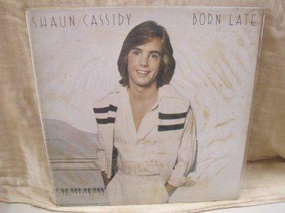 二手舖 NO.1645 黑膠唱片 西洋 Shaun Cassidy