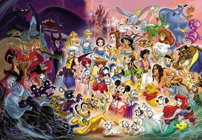 日本正版拼圖. 迪士尼 王國之心 1000片絕版拼圖,1000-224