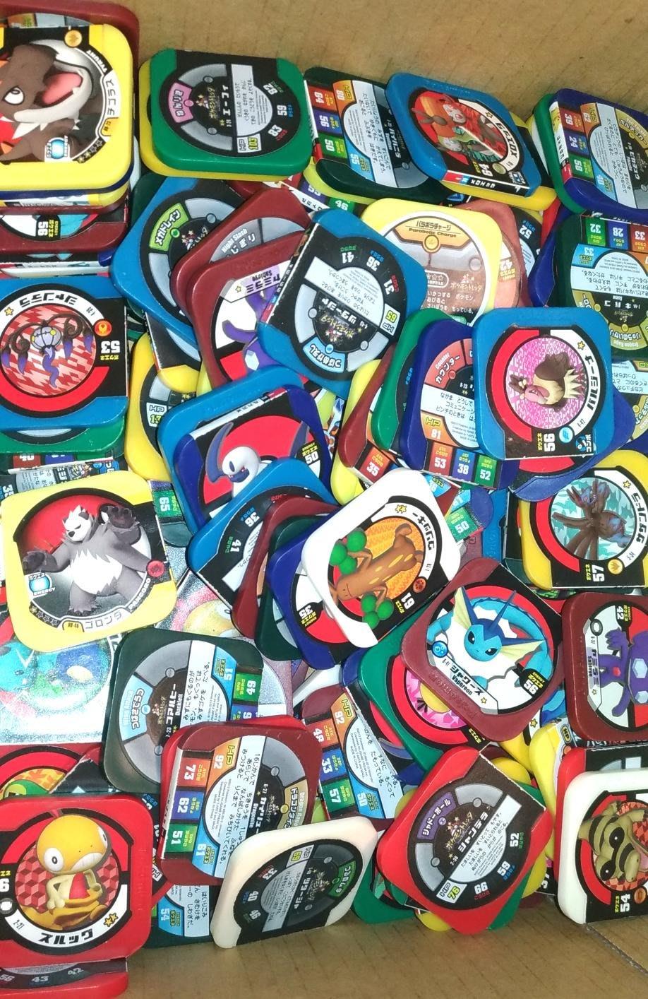 天天小舖 神奇寶貝 Pokemon tretta 舊彈卡 大量 1枚1.5元 出清 市面上機台不可刷 二手 卡匣 正版