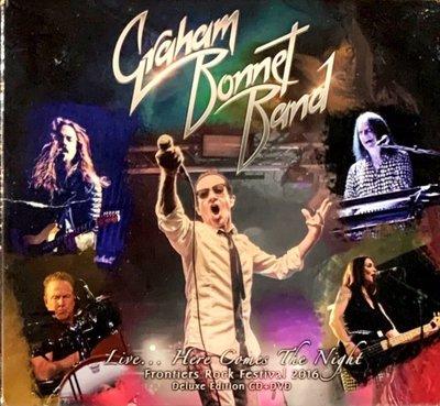 【搖滾帝國】英國重金屬(Heavy Metal)樂團 GRAHAM BONNET BAND 2017發行CD+DVD專輯