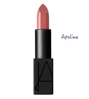蕎蕎小鋪 Nars Audacious Lipstick 惹火唇膏 Apoline 粉紅玫瑰紅