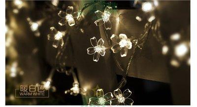 新款10米100燈 LED彩燈串燈 閃燈星星燈滿天星 led霓虹燈聖誕節日裝飾燈串 派對酒吧櫻花燈 帶戶外防水庭院造景燈