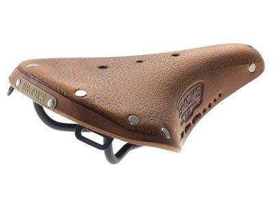 原廠盒裝 英國 BROOKS Aged 系列 B17 S AGED 復古真皮女用座墊 鞣革色附繫帶