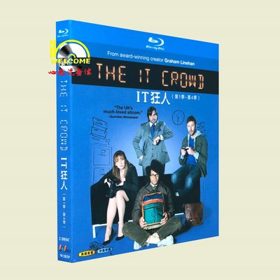 BD藍光美劇1080P The IT Crowd IT狂人 第1-4季 完整版