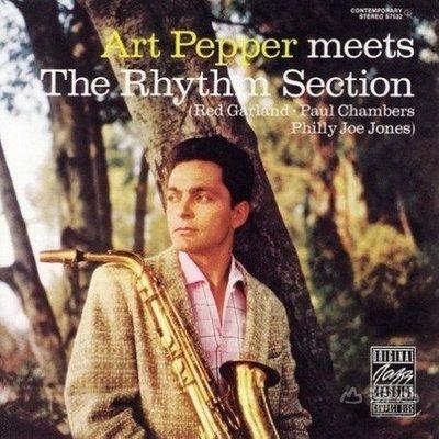【黑膠唱片LP】遇上節奏組 Meets The Rhythm Section / 亞特派伯 Art Pepper