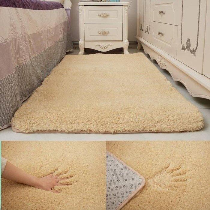 YEAHSHOP 北歐加厚羊羔絨客廳茶幾地毯臥室Y185