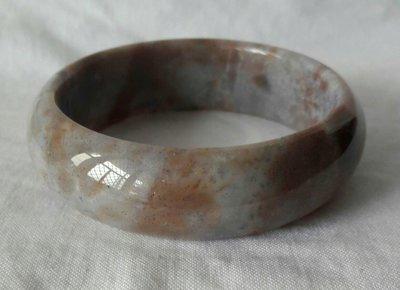 天然海藻玉(七彩玉)手鐲(3)内徑58.5mm