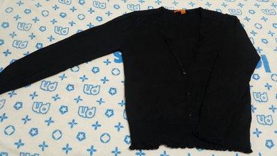 *KAI小舖衣櫃大出清*Theme專櫃~黑色小V領羊毛針織衫40號