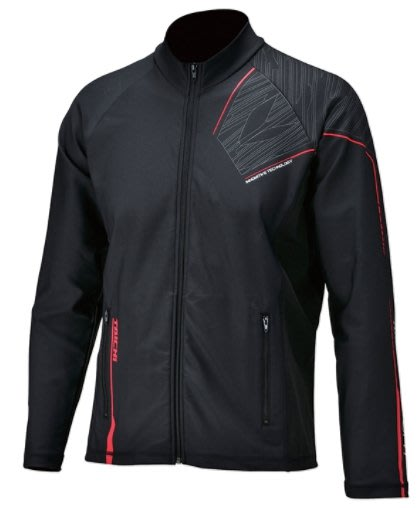 【亞駒部品】日本RS TAICHI RSU295 COOL RIDE ZIP INNER JACKET 黑紅 €全新正品