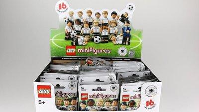 (bear)全新現貨 Lego樂高 71014 整盒未拆  德國 足球 全60隻 全球限量官方已斷貨