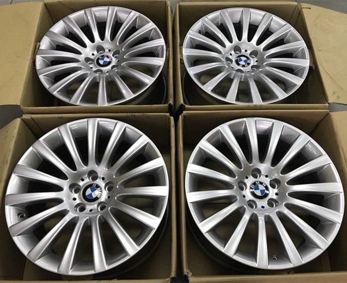 全新烤漆 正廠 原廠鋁圈 BMW 19吋 5孔120 前8.5J ET25 後9.5J ET39 一組40000