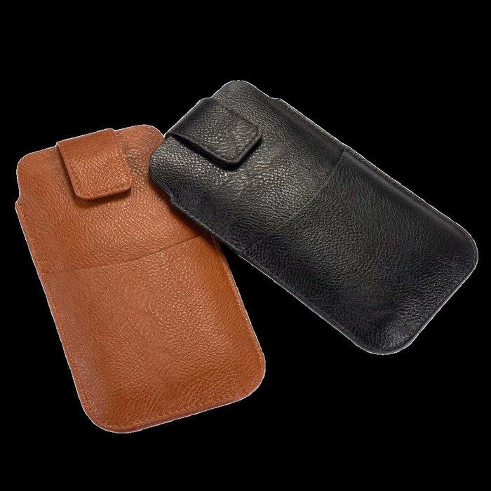 通用手機套 HTC OPPOR11手機皮套PLUS豎款直插掛腰包手拿包超薄6寸手機包穿皮帶男