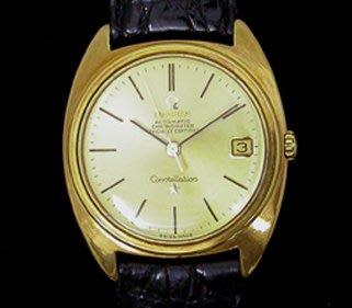 【品味來自於素養】OMEGA Constellation 歐米茄星座系列、18k黃金、錶徑34x41mm、OM-042