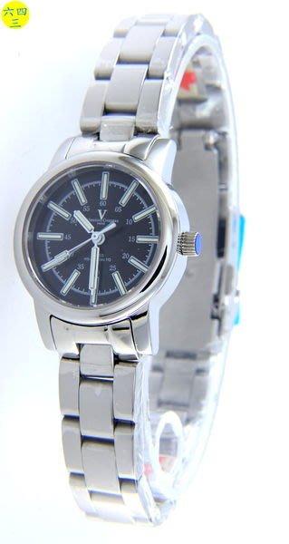 (六四三精品)2.7錶徑范侖鐵諾(真品)瑞士氚氣燈管自體發光.水晶鏡面.不銹鋼精準錶.