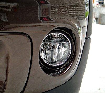 【JR 佳睿精品】MINI COOPER R56 鍍鉻霧燈框 改裝 精品 配件 台灣製