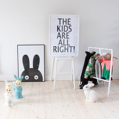 Sis 歐美 北歐 框畫 兒童房 壁畫 簡約 掛畫 時尚 嬰兒房 室內設計 背景 IKEA 家飾品 (23*28)