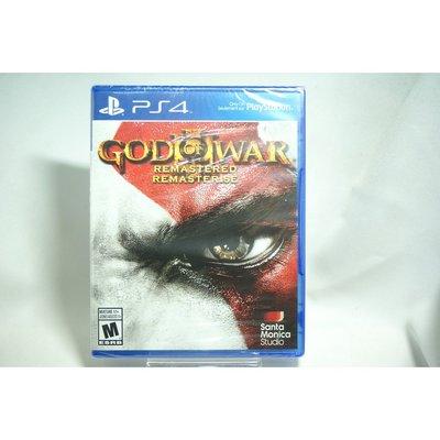 [耀西]全新 美版 SONY PS4 戰神 3:強化版 God of War III: Remastered 含稅附發票