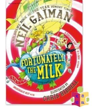 [文閲原版][英文原版]Fortunately, the Milk/Bloomsbury Publishing PLC